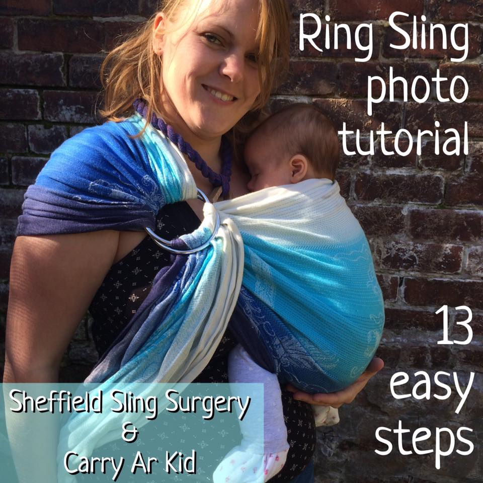 ring sling photo tutorial from sheffield sling surgery and carry ar