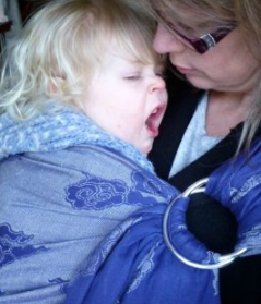 sleeping while your baby is sleeping in a sling