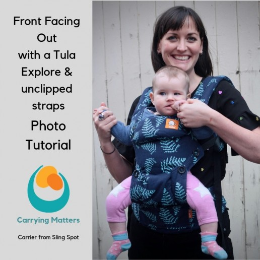 Tula Explore Front Facing out photo tutorial