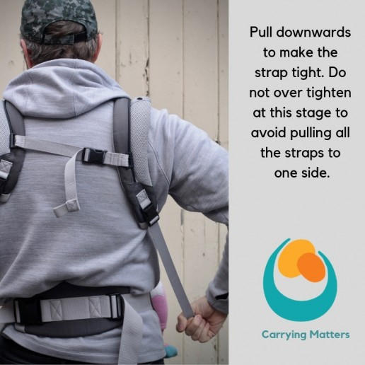 Ergobaby Front Carry Ruck Straps Photo Tutorial