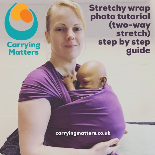 Stretchy wrap photo tutorial guide