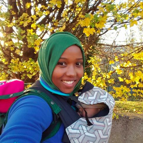 babywearing in ramadan