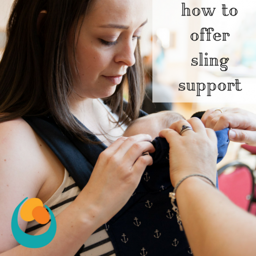 offering sling support