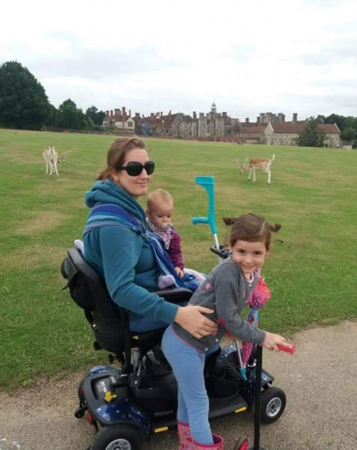 babywearing with multiple sclerosis