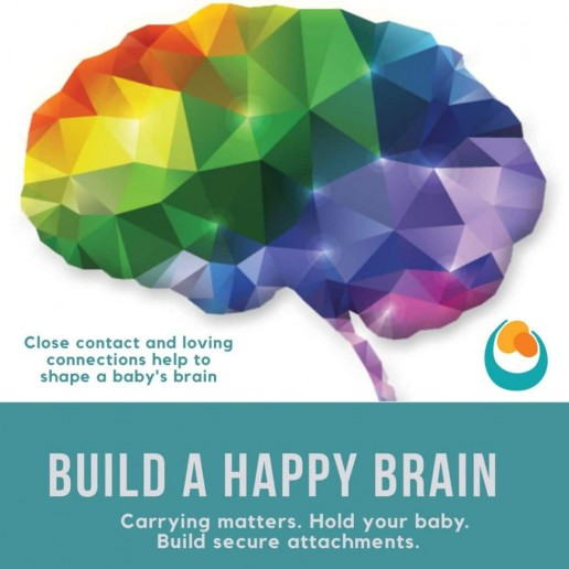 Build a Happy Brain postcards and Leaflets