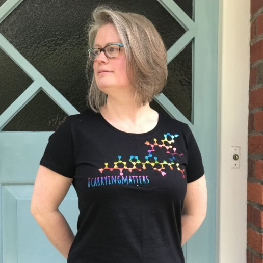 Carrying Matter Rainbow Oxytocin T-Shirt webshop