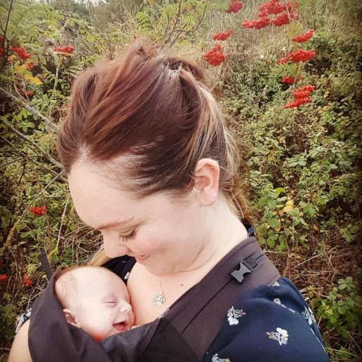 babywearing with fibromyalgia