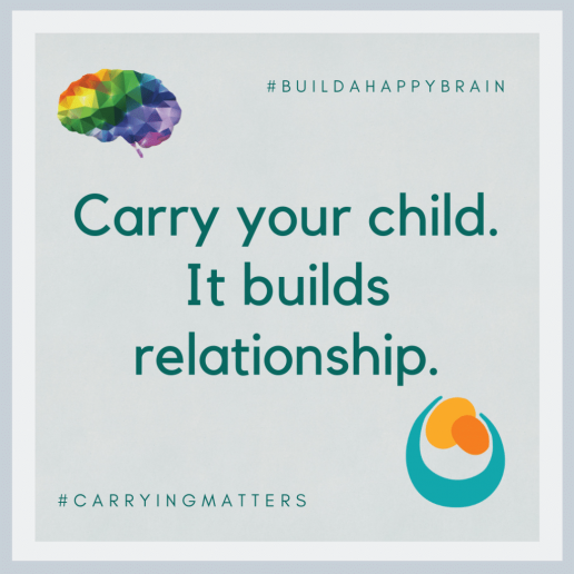 carrying matters build a happy brain encouragement